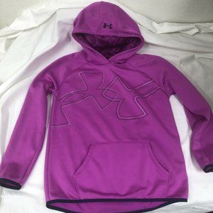 Under Armour Cold Gear YXL Purple Hoodie Youth XL